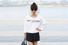 Ain't Laurent Without Yves http://www.itsnotheritsme.com/2013/09/aint-laurent-without-yves.html