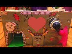 Slime vending machine!❤️ - YouTube