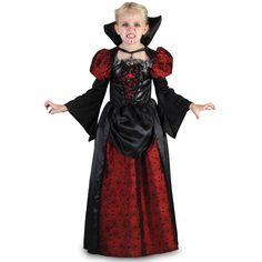 Disfraz de Vampira Tenebrosa para Niña