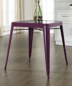 crosley purple amelia caf table zulily product description inspired by the
