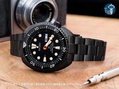 SEIKO 精工【黑魂特別版】- 復刻鮑魚 200m機械潛水錶 SRPC49K1 – 太空人腕時計TW