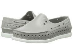 Native Kids Shoes Unisex Miles Slip-On Washed Blue//Shell White 7 M US Toddler Toddler//Little Kid