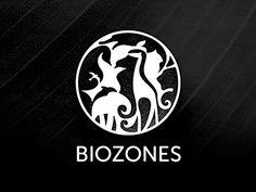 Biozones animals logo