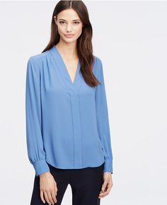 Primary Image of V-Neck Blouse
