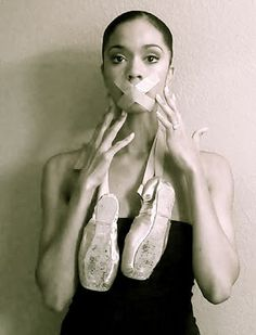 Aesha's blog, The Black Swan Diaries, about her role as a dancer of color in the ballet world.