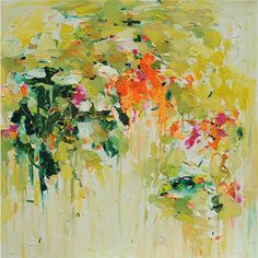 "YangYang Pan - Gardening in June, 2011, oil on canvas, 30""x 30"""
