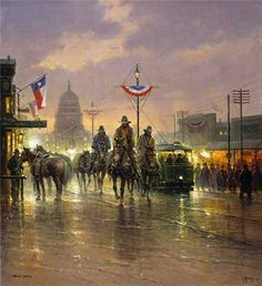 Texas Independence by Texas artist, G. Harvey...This will be mine one day. :)