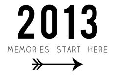 2013 Memories Start Here Free Printable for Project Life