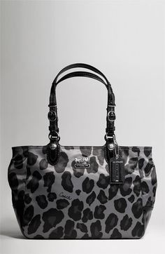 Coach Ocelot print: it was on the outlet site awhile back & I talked myself out of it. Kicking myself bc I LOVE it!