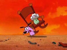 Coraje, el perro cobarde... Enfrentaba sus miedos para salvar a quien amaba.... Courage the Cowardly Dog es una serie animada producida por Cartoon Network y Stretch Films Studios que fue creada por John R. Dilworth, quien dirigió cada episodio.