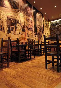 Modern Barbureto Restaurant Interior Design