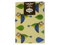 birdy notebook - blue tit