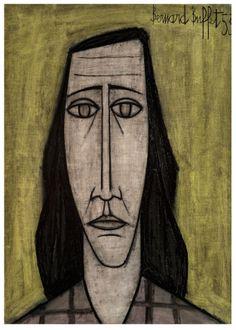 Bernard Buffet (1928-1999) Portrait de Femme, 1953