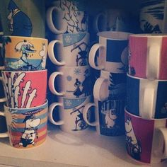 """""""If anything, I don't have enough Moomin memorabilia."""" 