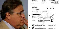 A Folha, em reportagem exclusiva, mostra os registros das diversas ligações de Geddel Vieira Lima, ex-ministro e ainda assecla de Michel Temer, para o telefone damulher do doleiro Lúcio Funaro, Raquel, por meio do...