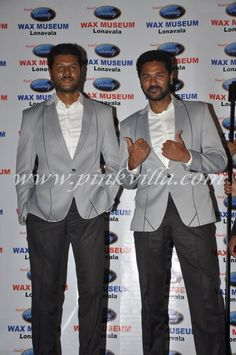Prabhu Deva unveils his wax statue at the Celebrity Wax Museum of Lonavala. The wax statue was created by sculptor Sunil Kandaloor. Wax Statue, Organizer Box, Best Avenger, Pikachu Art, Wax Museum, Madame Tussauds, Famous Movies, Bollywood Stars, Picture Collection