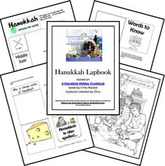 Free Hanukkah Lapbook - American Girl Rebecca Unit study