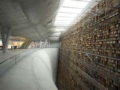 Stockholm Public Library(スウェーデン)世界の図書館が神秘的すぎる【画像】