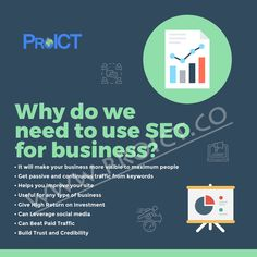 Check the infographic and know Why Do we Need SEO For Business. Points has been explained in the post and one can easily related with it for their business growth perspective. for more info related to SEO strategies implementation for business growth, visit at ProICT LLC or connect at +1-718-285-9928.