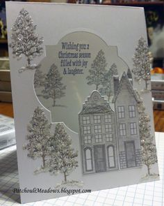Stampin' Up! Holiday Home and Lovely As A Tree ~Let It Snow~ by Penny V McGonigal