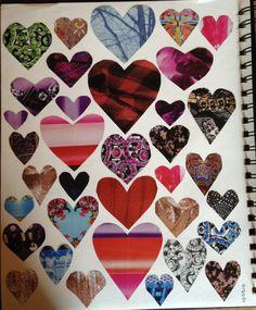RGS Smash:  magazine heart collage