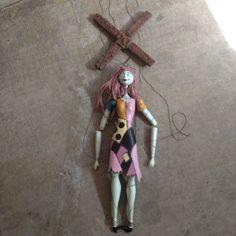 Tim Burton character puppet