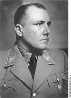 Reichsleiter Martin Bormann, head of the Party Chancellery and Hitler's official gatekeeper and do-it-all private secretary; he disappeared after Hitler committed suicide and his fate remains unknown. Spoooky