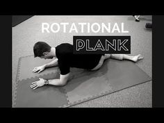 The rotational plank is modification of the low oblique sit position popularized by Dynamic Neuromuscular Stabilization. This is a great drill for lower thor. Pain Management, Dns, Physical Therapy, Pediatrics, Plank, Pilates, Drill, Physics, Health Fitness