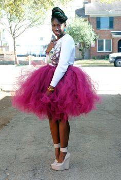 Find This Pin And More On Sew What No Tulle Skirt