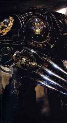 Space Marine in Terminator power armor