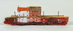 Kirsty Elson driftwood houses