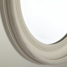 Buy John Lewis Porthole Mirror, White, Dia.39.5cm Online at johnlewis.com