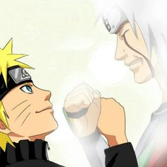 Naruto and Jiraiya