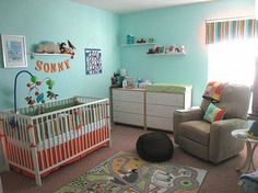 Nursery wall color inspiration