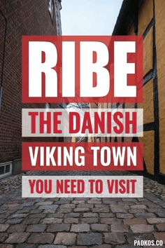 Ribe, the Danish Viking Town you need to visit! Things to do in Ribe. Things to see in Denmark. Things to do in Denmark besides Copenhagen. Ribe, Denmark UNESCO World Heritage Site. This awesome historic town is a picture perfect quaint old town in Wester Visit Denmark, Denmark Travel, Denmark Tourism, Denmark Map, Danish Vikings, Danish Culture, Ancient Greek Architecture, Gothic Architecture, Scandinavian Countries