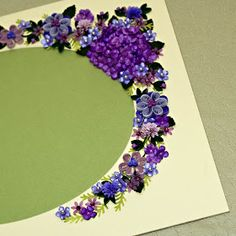 Appel Quilling Garden: Quilled, Stamped, Scrapbook Page and Cards