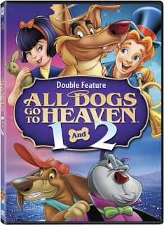 All Dogs Go to Heaven 1 & 2 Double Feature DVD $5.00