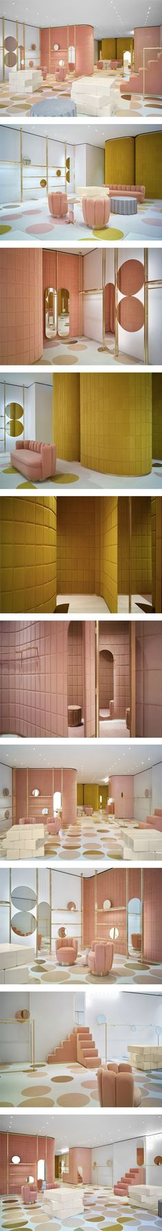 French architect India Mahdavi designs the first RED Valentino store in London