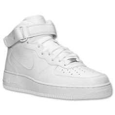 sports shoes 43441 8f601 ... Mens Nike Air Force 1 Mid Casual Shoes - 315123 111 Finish Line . ...