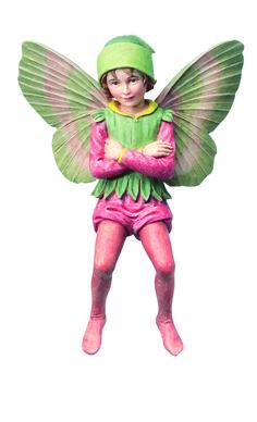 Retired Cicely Mary Barker Yew Garden Flower Fairy Ornament Figurine | eBay