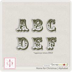 Home for Christmas   Alphabet
