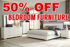 50 PERCENT OFF DISCOUNT Felicity Collection 203500 Bedroom Furniture Set.