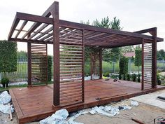 Pergola over garage door Key: 6158608687 # terrace roofing ., Pergola over garage door Key: 6158608687 # terrace covering Pergola over garage door Key: 6158608687 There are lots of stuff that could last but not least finish your own backyard, like. Corner Pergola, Small Pergola, Modern Pergola, Pergola Attached To House, Pergola With Roof, Covered Pergola, Outdoor Pergola, Backyard Pergola, Patio Roof