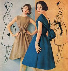 1957 - Givenchy dresses