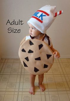 Adult Costume Cookie Halloween Costume Chocolate by TheCostumeCafe, $75.00