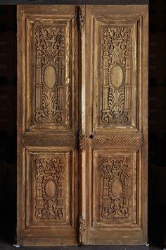 Antique doors I love the detail!