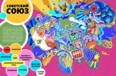 PSYCHEDELIC MAPS on Behance