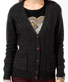 Cable Knit Cardigan | FOREVER21 - 2080229625