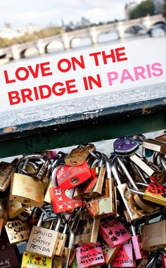 Pont des Arts, one of the most romantic places to go in Paris | via livesharetravel.com