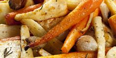 Cook's Country Roasted Glazed Parsnips and Carrots with Orange and Thyme